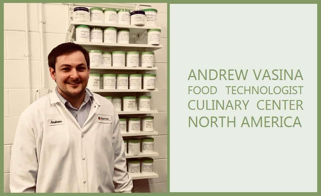 Food Technologist Expert Andrew